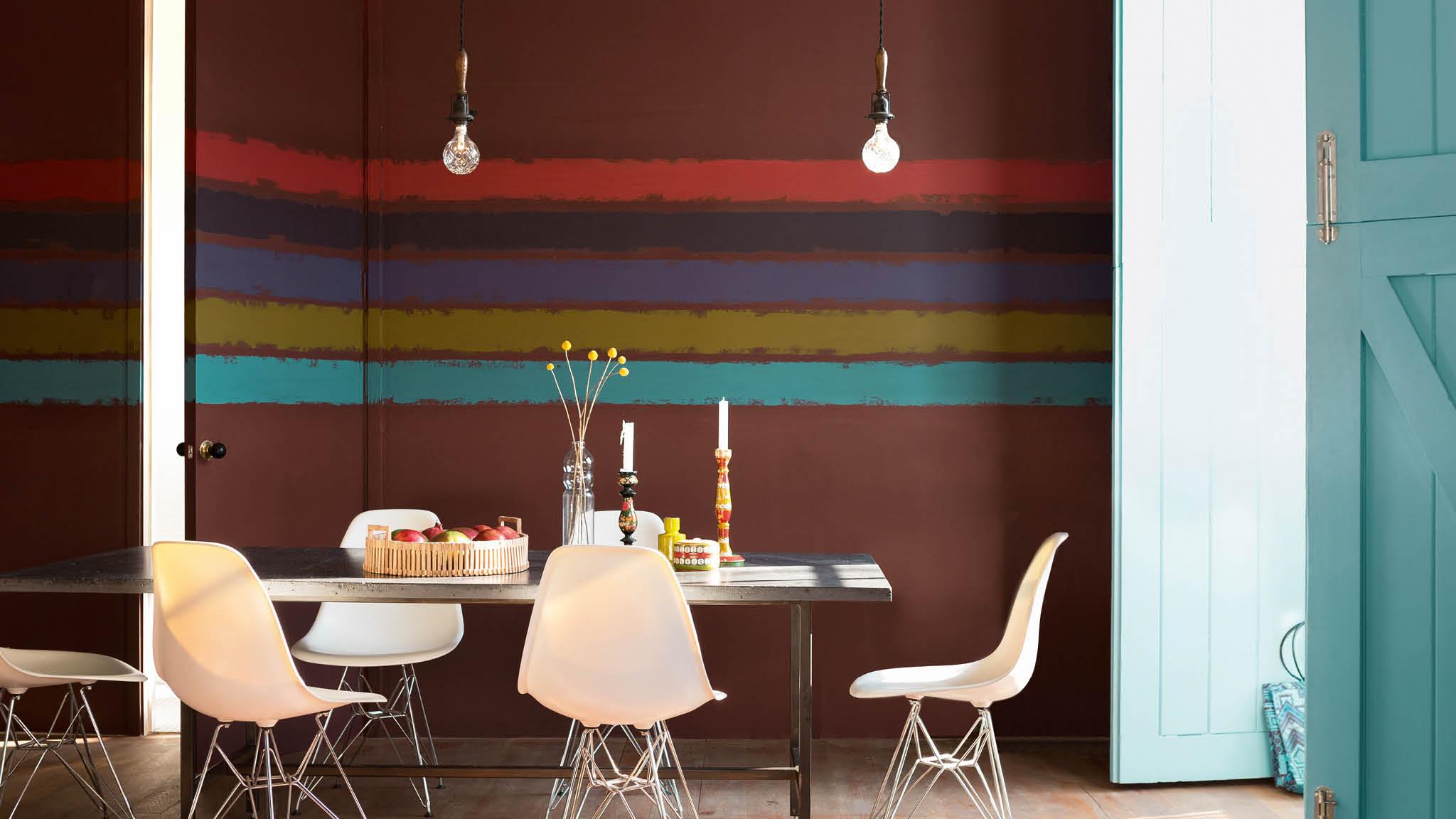 7 Ide Warna Ruang Makan Yang Memikat Untuk Membuat Tamu Jamuan Makan Malam Anda Terkesan Dulux Warna cat rumah makan