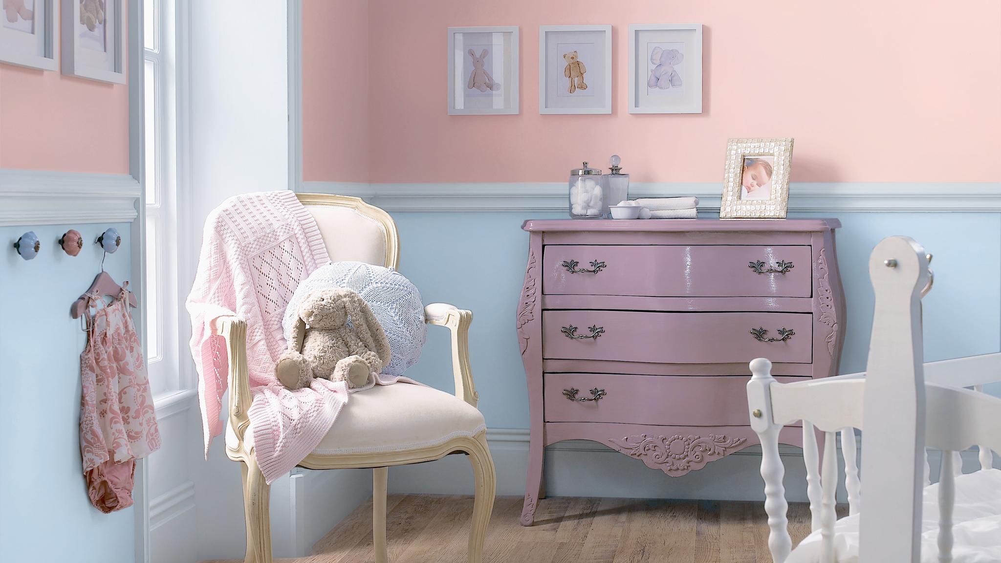 Pilih Warna Warna Pastel Untuk Kamar Bayi Yang Menenangkan Dulux Cat warna pastel muda